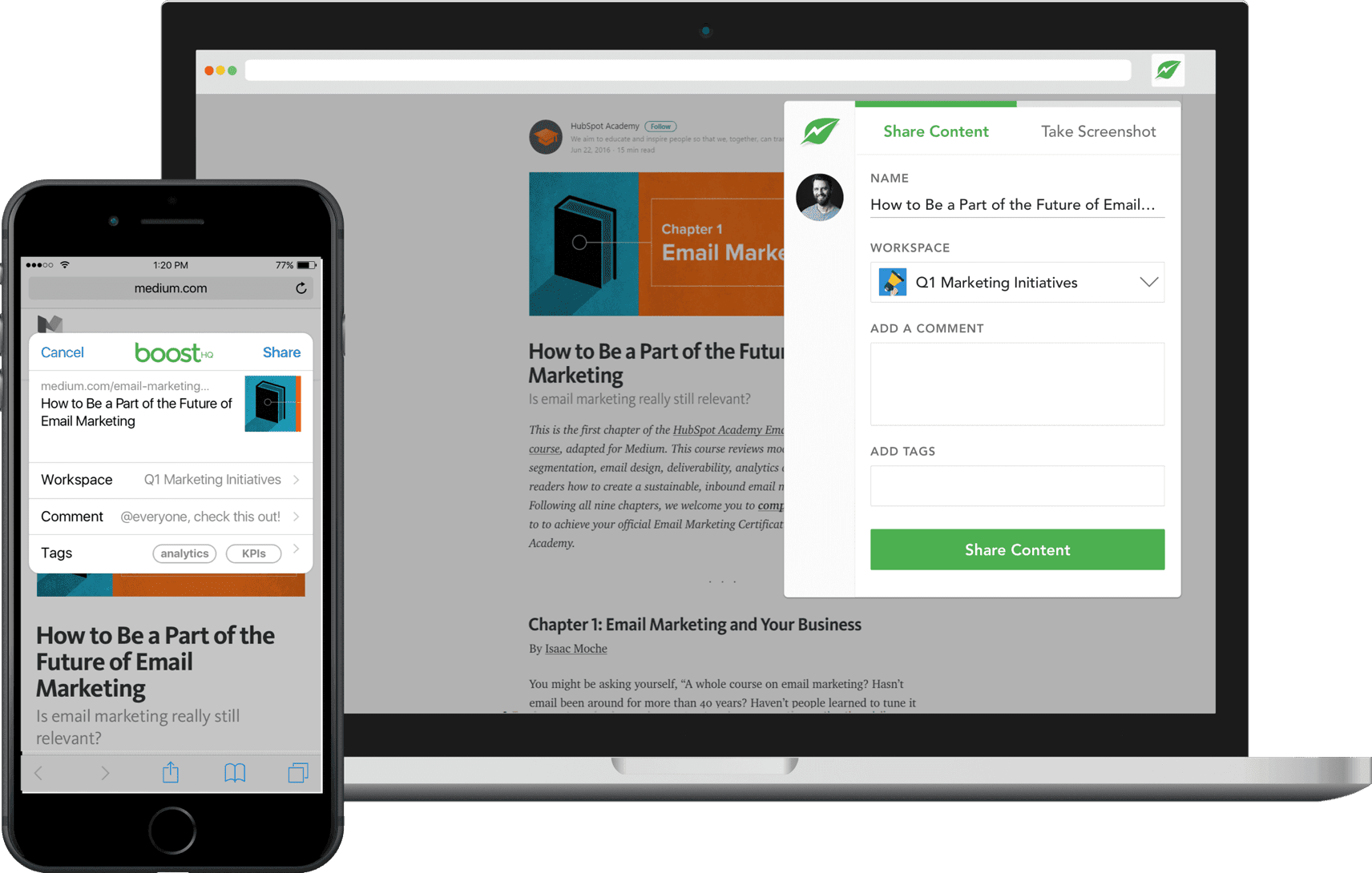 boosthq knowledge sharing tool chrome extension