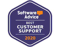 Capterra Best Customer Support LMS 2020