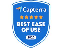 Capterra Best Ease of Use LMS 2020