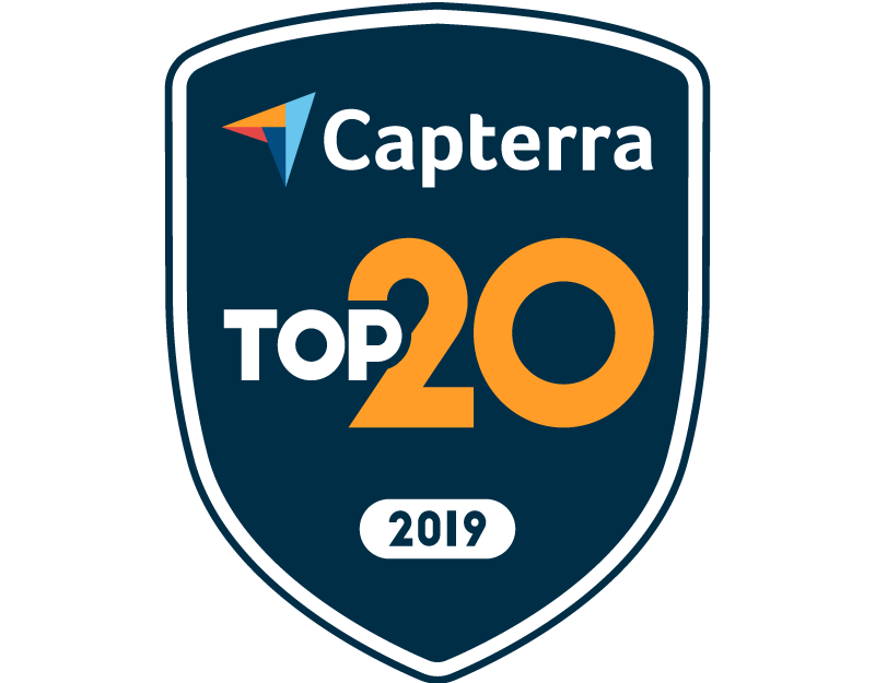 SkyPrep best value employee training platform capterra badge