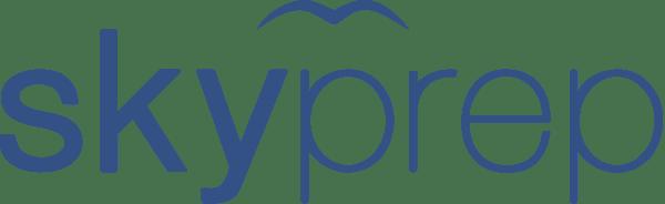 SkyPrep Logo Blue