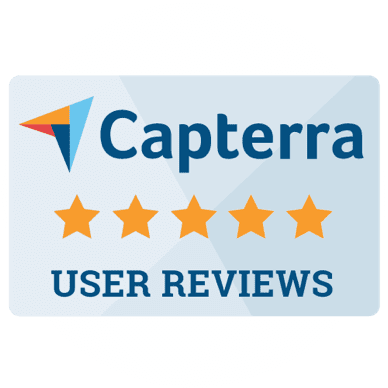capterra award user reviews badge SkyPrep