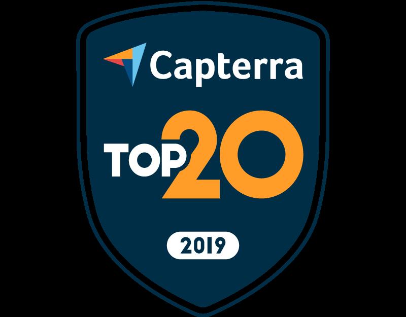 capterra most user-friendly badge SkyPrep