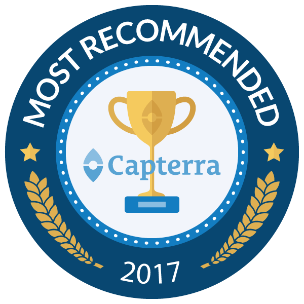 skyprep most recommended LMS capterra badge