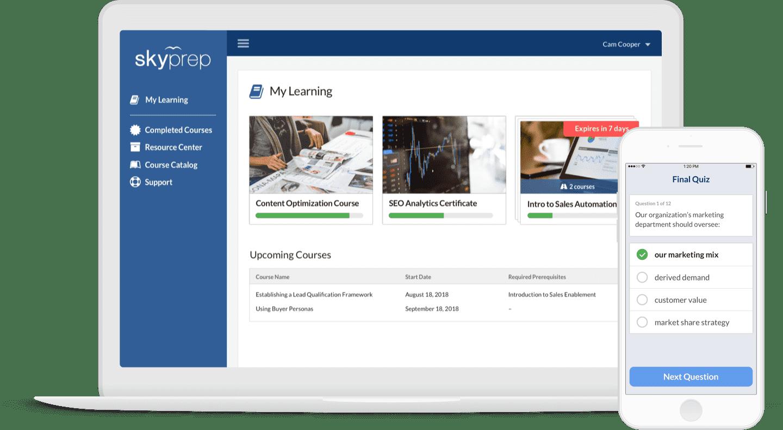 skyprep online training platform
