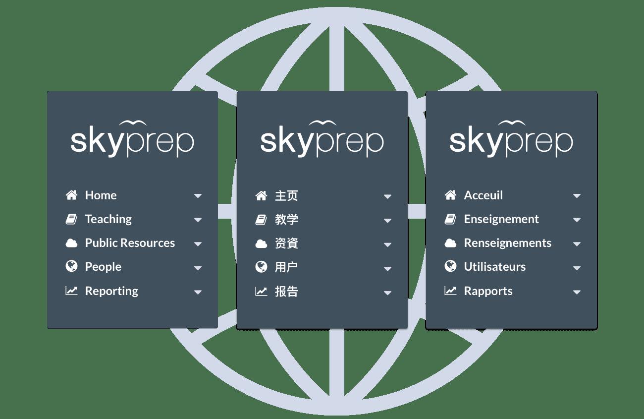 Set your platform language