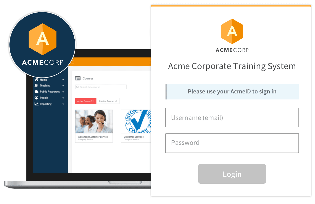 customized branding training software
