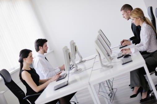 Online training software