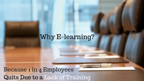 elearning employees quit