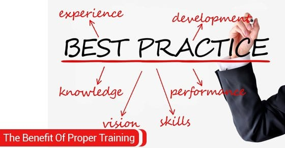 benefits of proper training