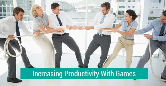 Increasing Productivity With Games
