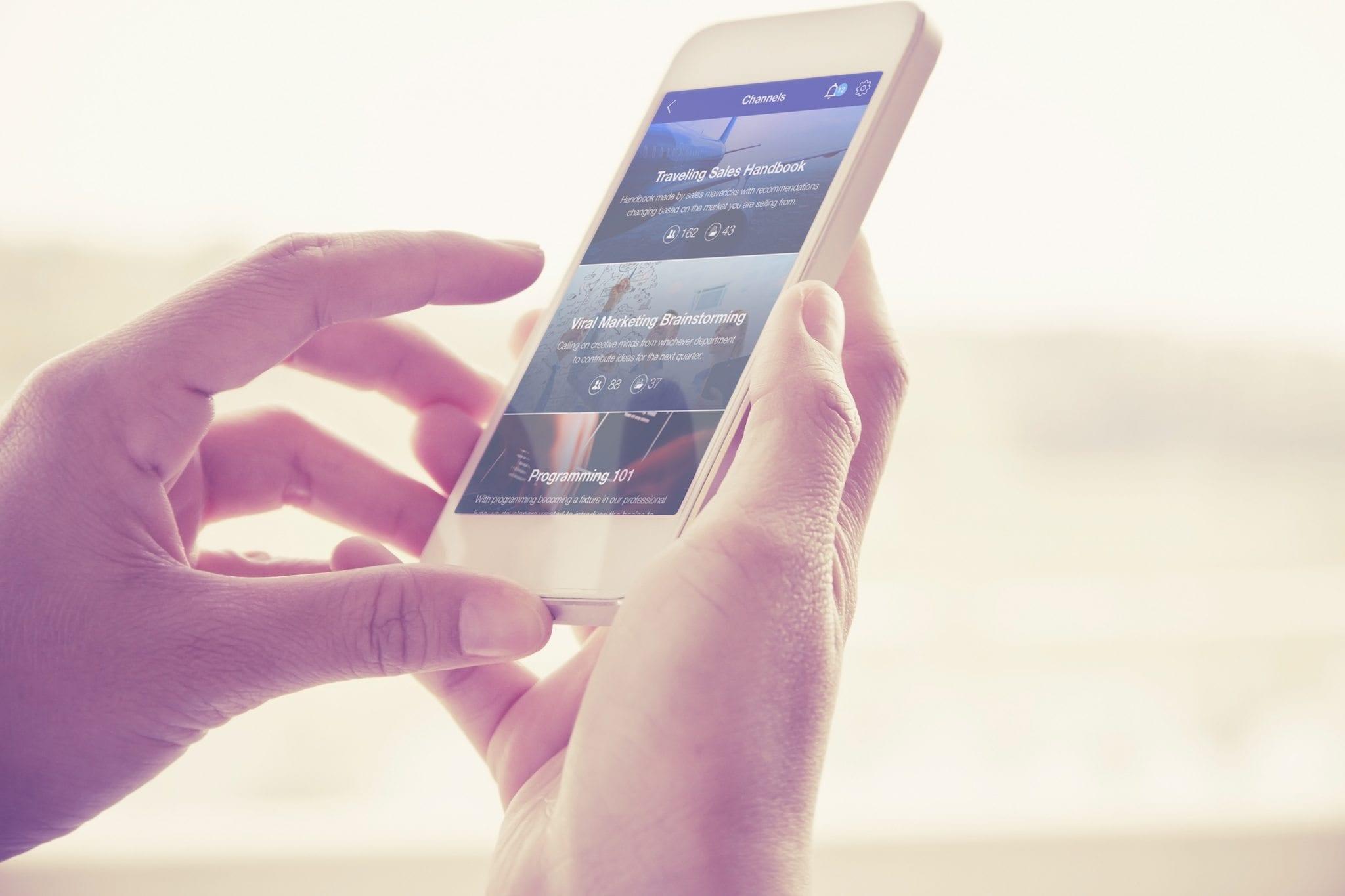 BoostHQ mobile app