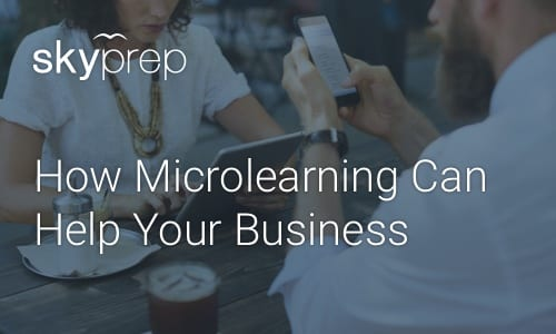 Microlearning with knowledge sharing platform