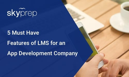 LMS for app development company Skyprep