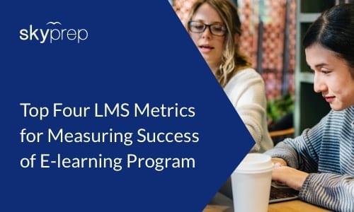 best LMS metrics SkyPrep