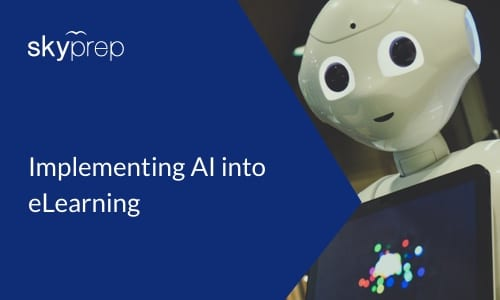 Implementing AI into eLearning LMS