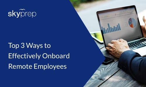 skyprep lms onboard remote employees
