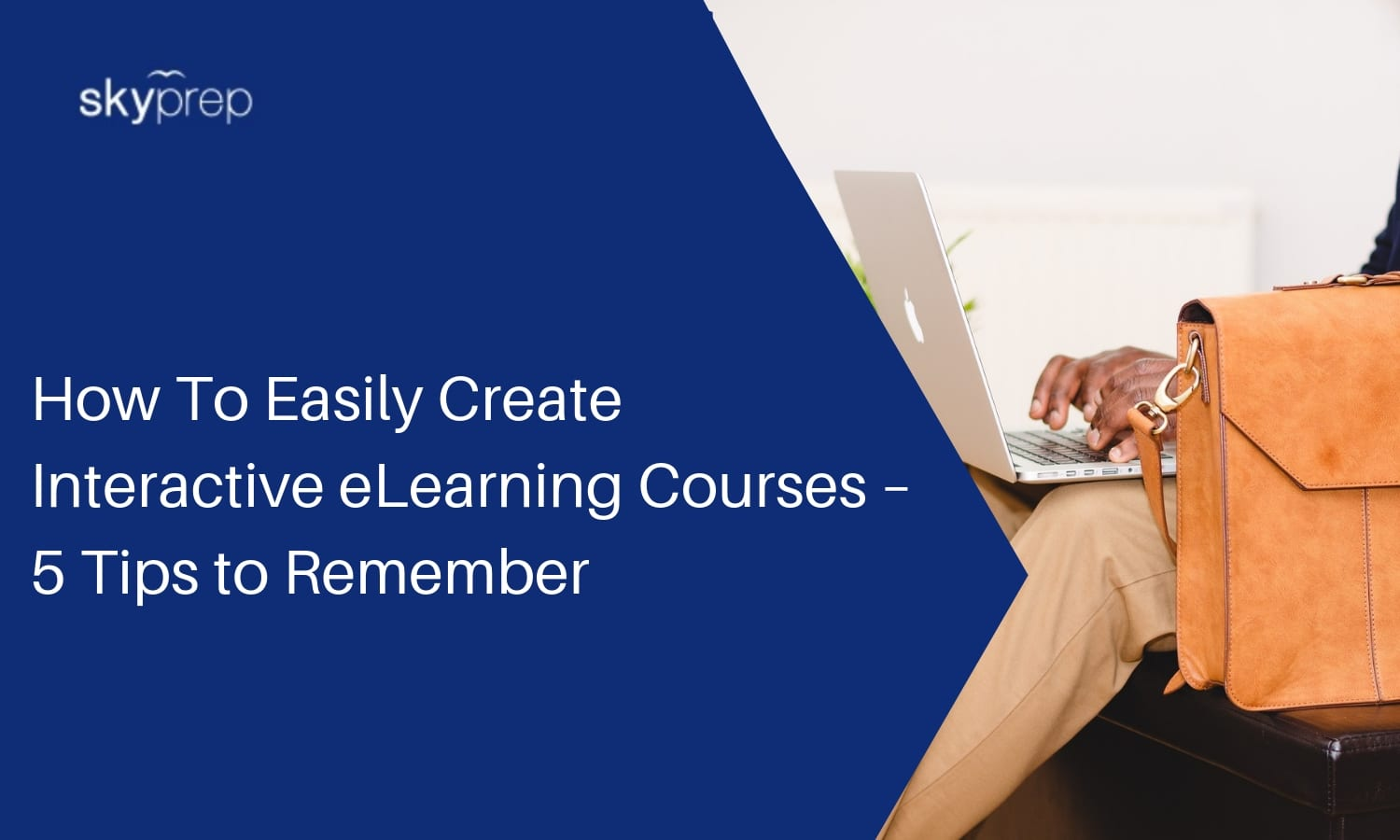 create interactive elearning course