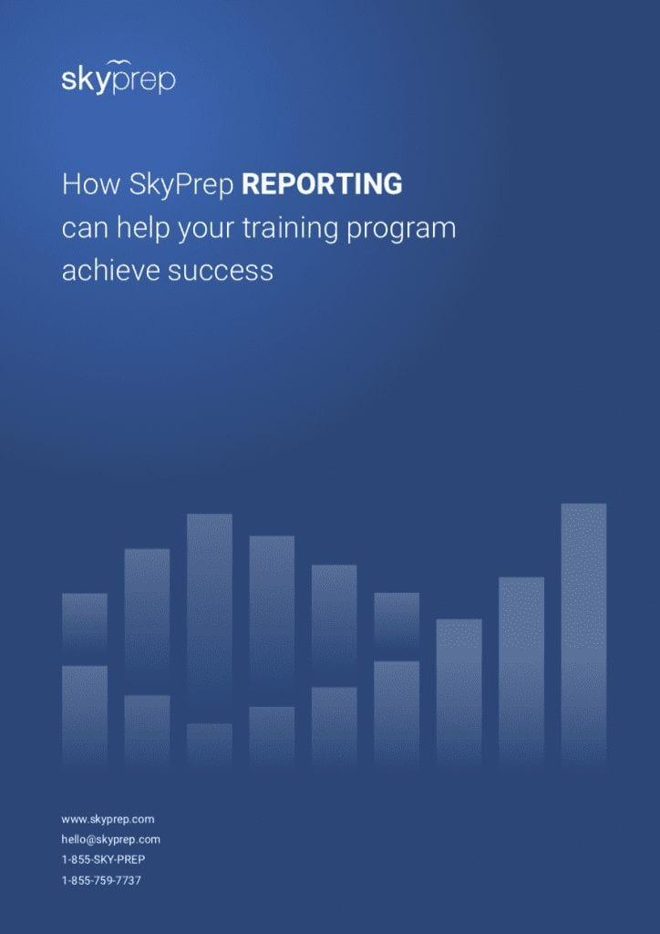 Brochure for LMS reporting