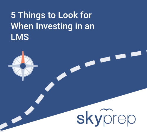 Blog post image pertaining to 5 Things To Look for When Investing in an LMS