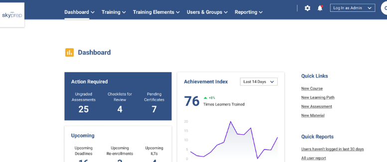 Blog post image pertaining to Discover SkyPrep's All-New Admin Interface